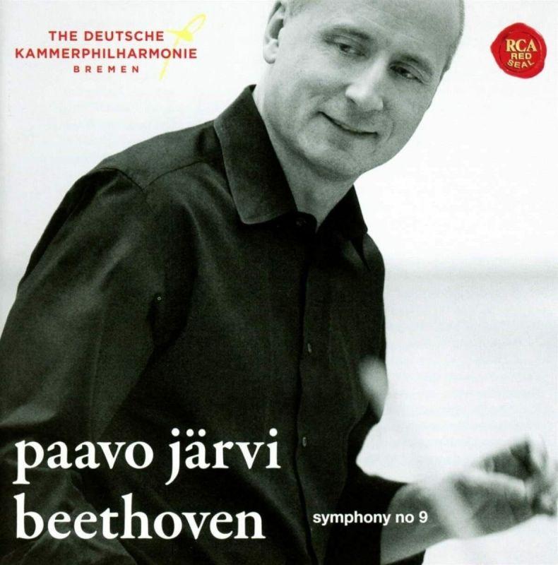 PAAVO JARVI - BEETHOVEN/SYMPHONY NO 9 - CD