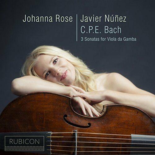 JOHANNA ROSE and JAVIER NUNEZ - 3 SONATAS FOR VIOLA DA GAMBA - CD