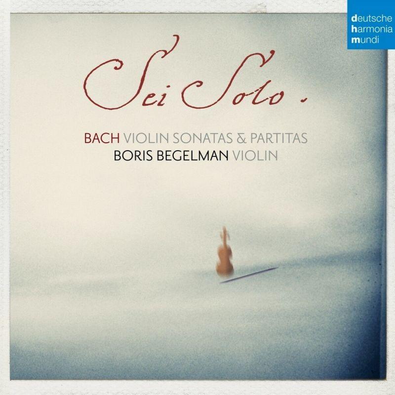 BORIS BEGELMAN - BACH/SONATAS AND PARTITAS FOR SOLO - CD
