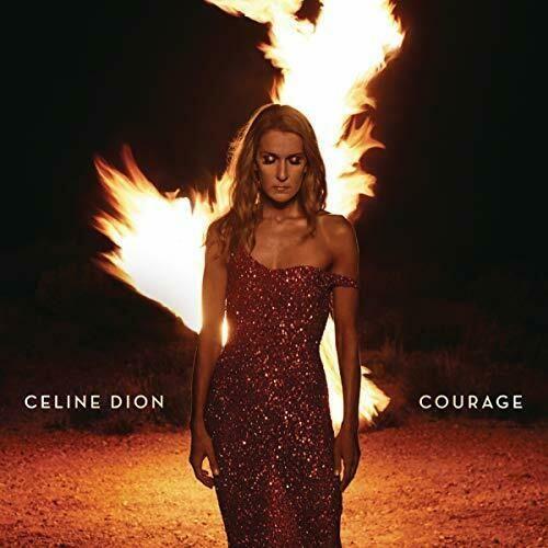 CELINE DION - COURAGE - RED 2LP VINYL