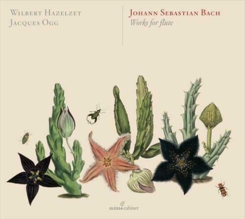 WILBERT HAZELZET/JACQUES OGG - WORKS FOR FLUTE - CD