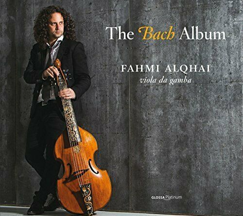 FAHMI ALQHAI/VIOLA DA GAMBA - THE BACH ALBUM - CD