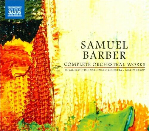 RSNO ALSOP - BARBER COMPLETE ORCH WORKS - CD