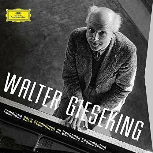 WALTER GIESEKING - COMPLETE BACH RECORDINGS