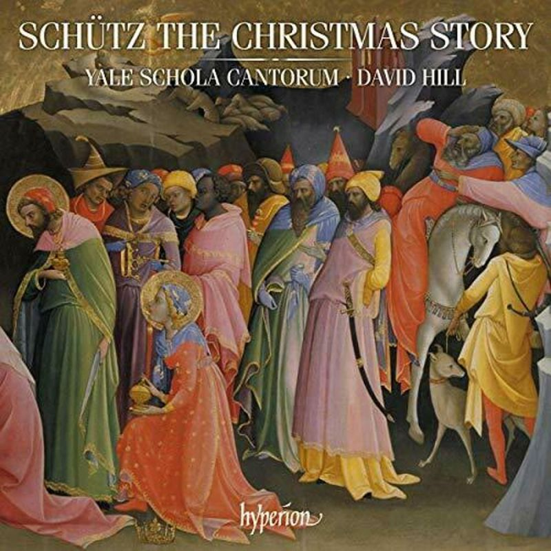 YALE SCHOLA CANTORUM - SCHUTZ/THE CHRISTMAS STORY