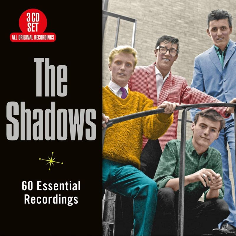 HANK MARVIN & THE SHADOWS - 60 ESSENTIAL RECORDINGS - 3CD