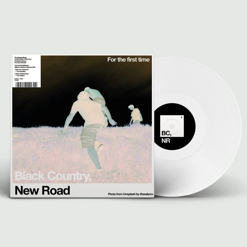 BLACK COUNTRY NEW ROAD - FOR THE FIRST TIME - INDIE EXCLUSIVE WHITE VINYL
