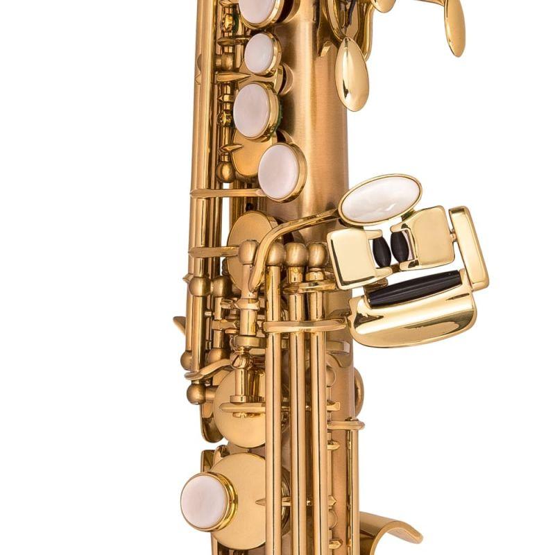 P Mauriat Le Bravo 200 Soprano Sax - Gold Lacquer