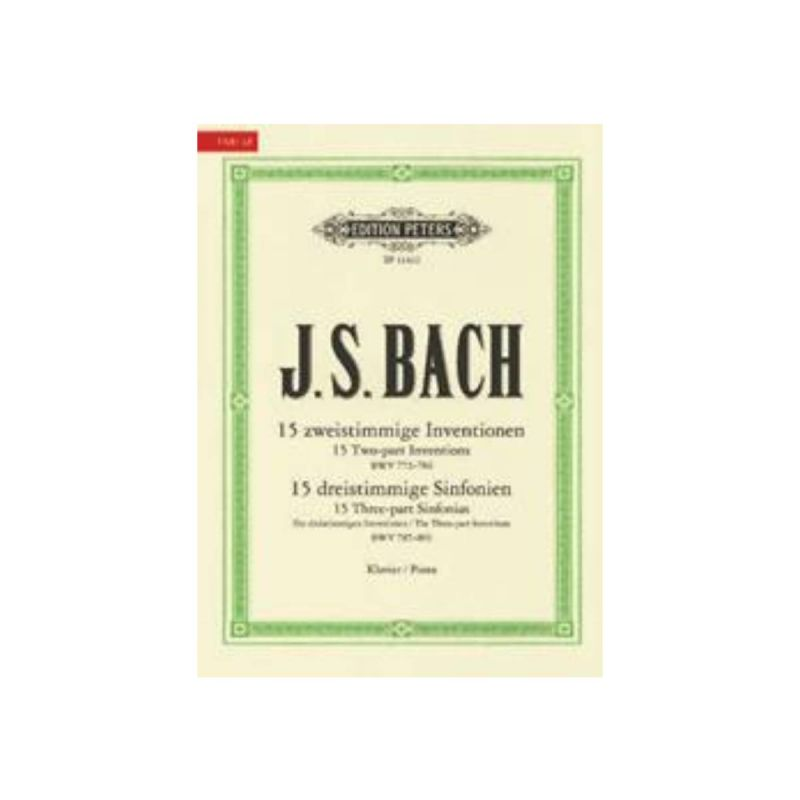 Sticky Notepads - Bach 15 Two-Part Inventions