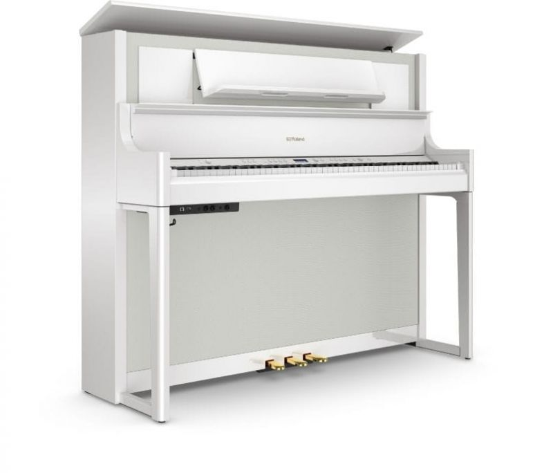 Roland LX708-PW Home Piano In Polished White