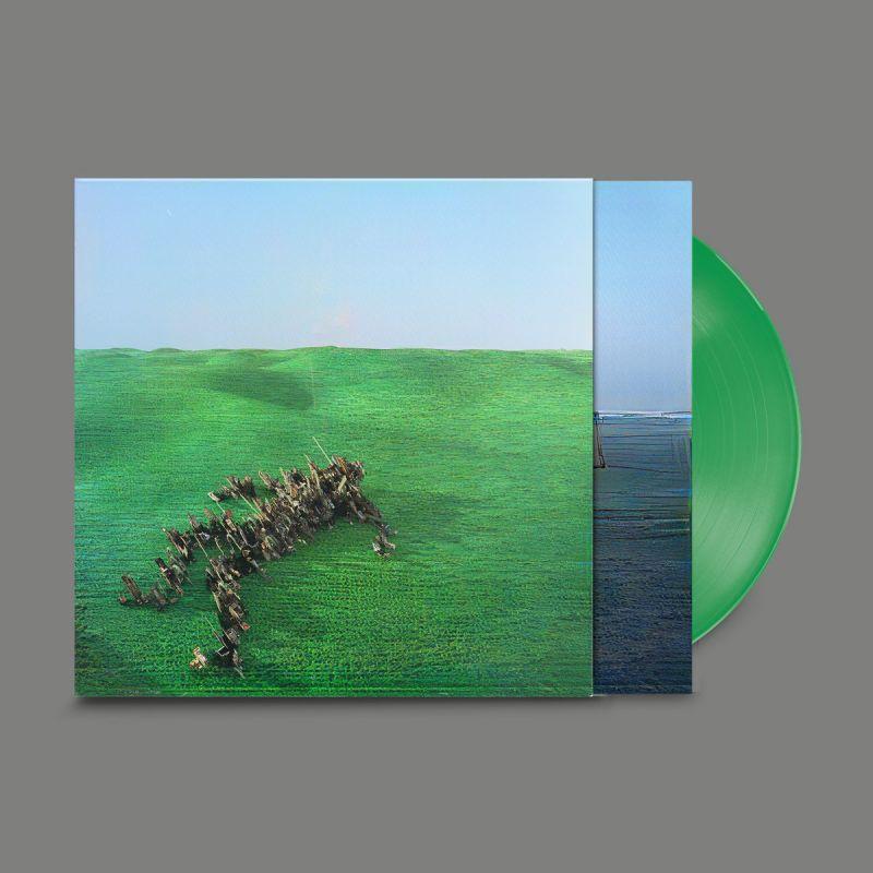 SQUID - BRIGHT GREEN FIELD - indie exc green vinyl