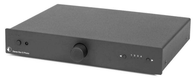 Project MAIA My Audiophile Intergated Amp, Phono Stage, DAC and Bluetooth, Black - Display Model