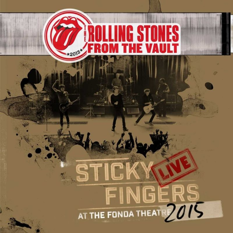 ROLLING STONES - STICKY FINGERS 2015 - 3LP + DVD