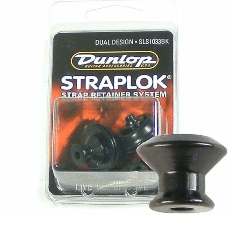 Dunlop Straplock Set Original Black