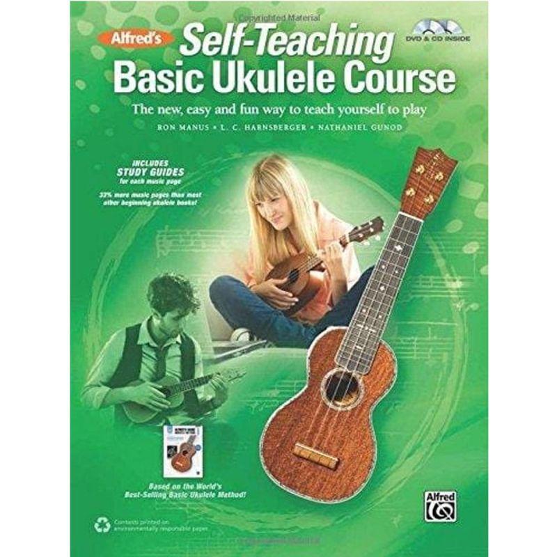 Alfred's Self-Teaching Basic Ukulele Course (Book, CD + DVD)