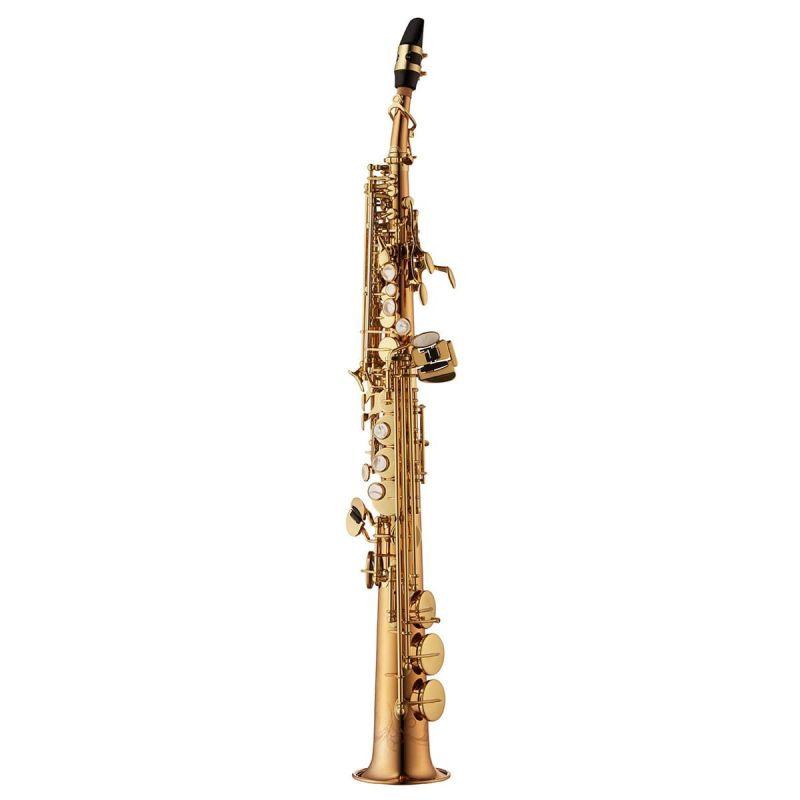 Yanagisawa Soprano Saxophone, Bronze, Clear Lacquer, straight and curved neck (SWO20)
