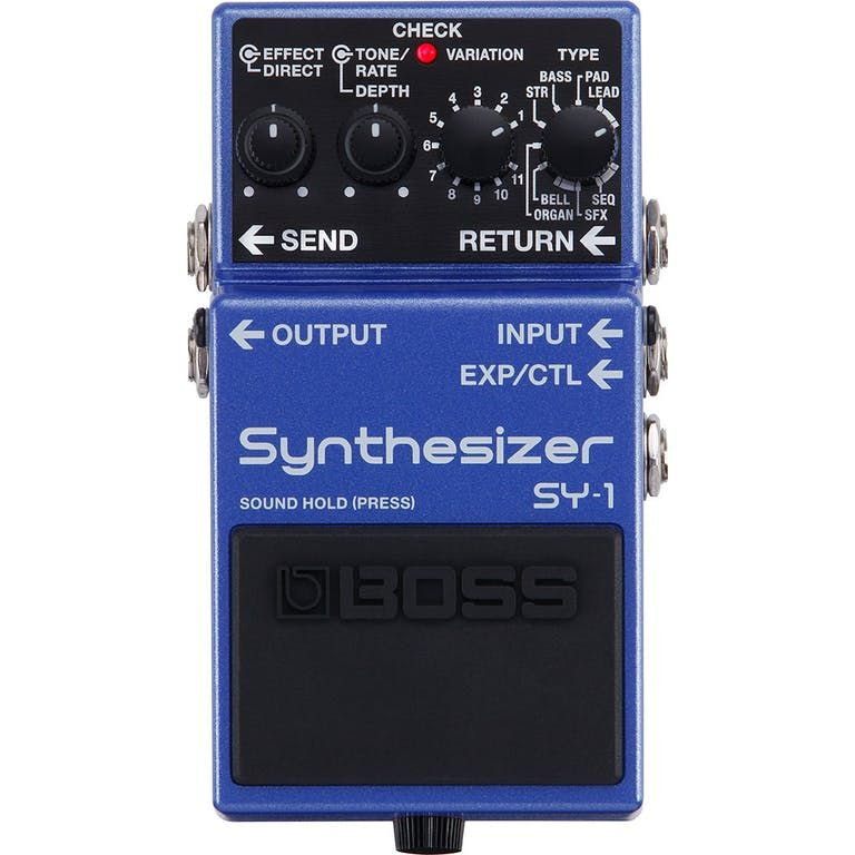 Boss Compact Pedal Guitar Synthesizer