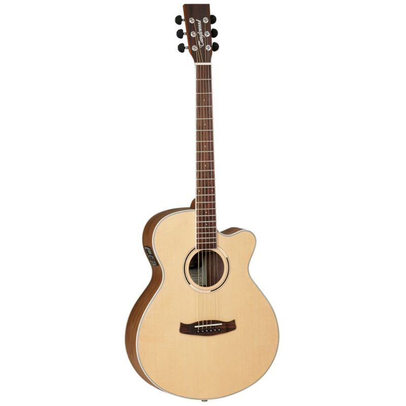 Tanglewood DBT SFCE BW Electro Acoustic Guitar Natural