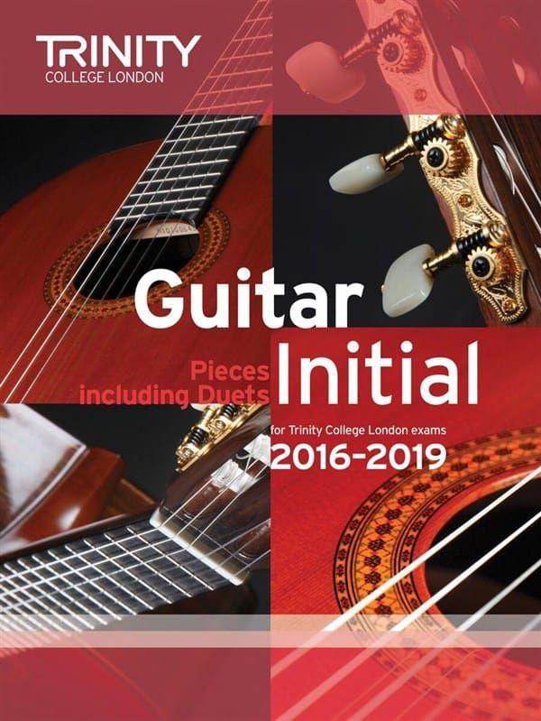 Trinity College Guitar Exam Pieces 2016-2019 Initial