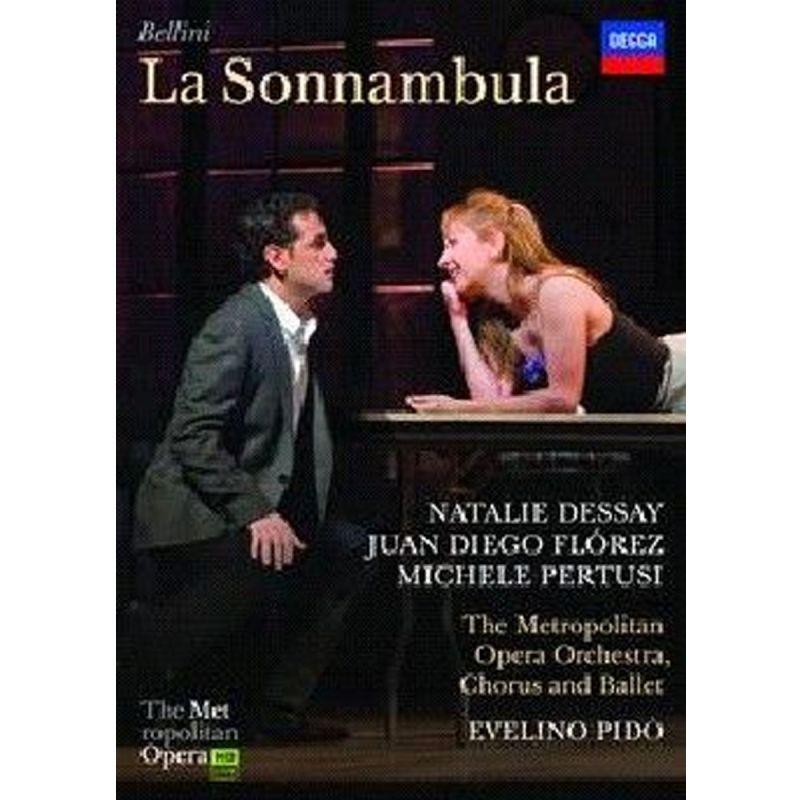 JUAN DIEGO FLOREZ - BELLINI LA SONNAMB (DVD)