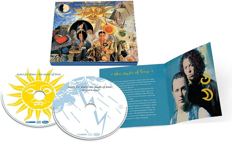 TEARS FOR FEARS - THE SEEDS OF LOVE - 2CD DELUXE - NAD20