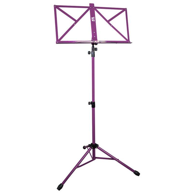 TGI Music Stand inc Bag, Purple