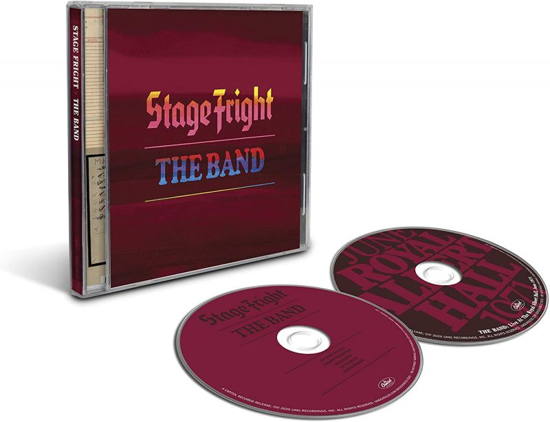BAND - STAGE FRIGHT - 50TH ANNIVERSAY 2CD