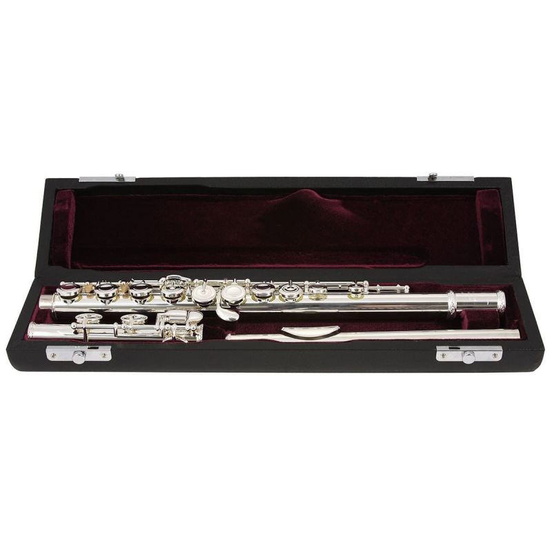 Trevor James 31CF-E Chanson Flute Outfit, Traditional Lip Plate
