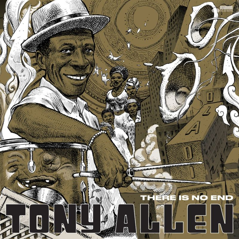 TONY ALLEN - THERE IS NO END - INDIE EXCLUSIVE ARTWORK - 2LP VINYL