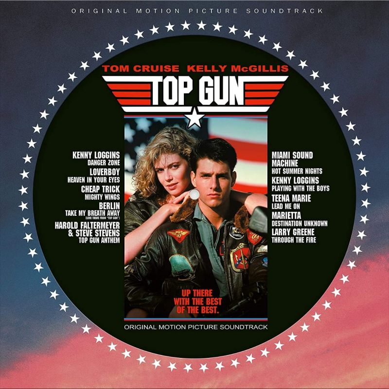 VARIOUS ARTISTS - TOP GUN - OST - PICTURE DISC - NAD20
