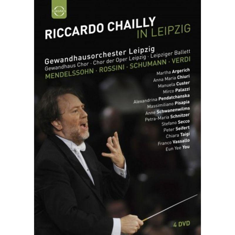GEWANDHAUS OR/CHAILLY - RICCARDO CHAILLY IN LEIPZIG (DVD)