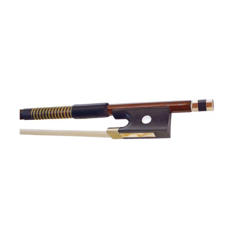 Hidersine 5059A Octagonal Violin Bow, Brazilwood, Full Size