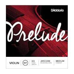 D'addario Prelude Violin String Set 3/4 Scale Medium Tension