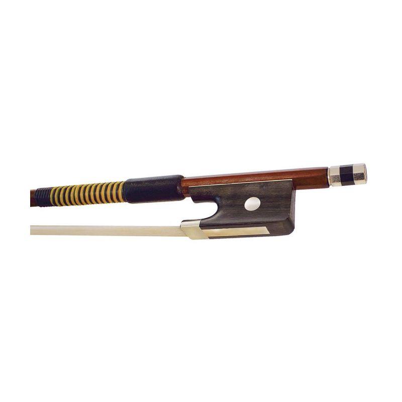 Hidersine 5060 Octagonal Viola Bow, Brazilwood