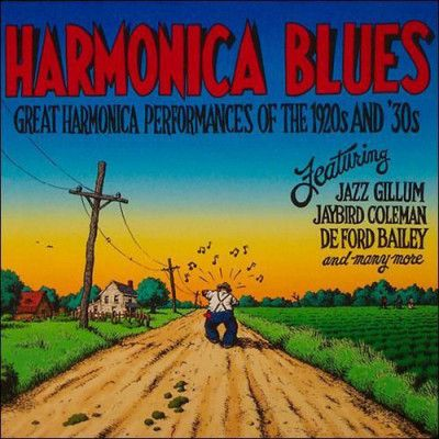 VARIOUS ARTISTS - HARMONICA BLUES - VINYL