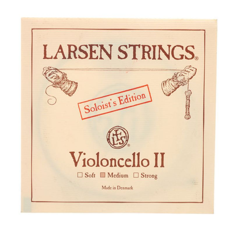 Larsen Cello D String - Medium (L333-122)