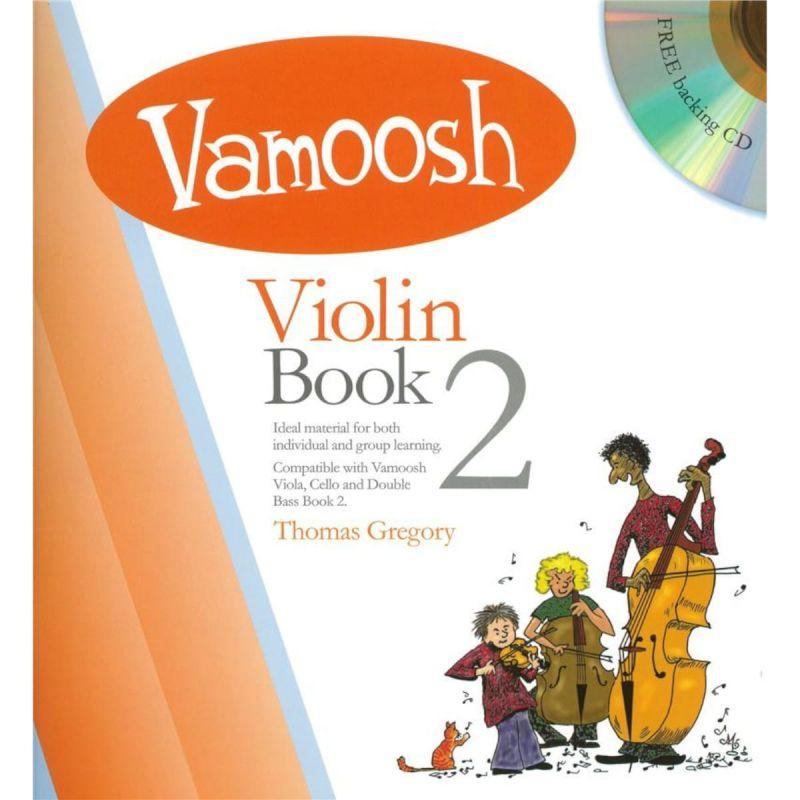 Vamoosh Violin Book 2 (Book and CD)