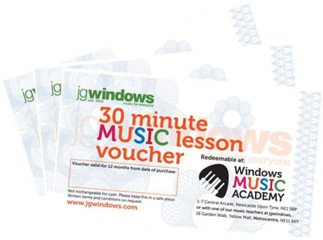 Windows Music Academy - 1 x 30-minute lesson