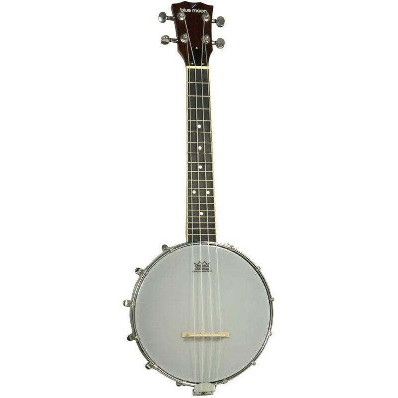 Blue Moon BB-14 Ukulele Banjo, 8 Inch Head