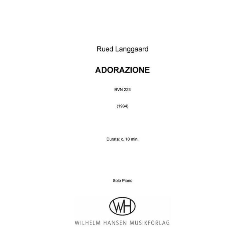 Langgaard - Adorazione (Solo Piano)