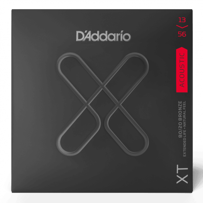 D'addario XTABR1356 XT Acoustic 80/20 Bronze Medium 13-56