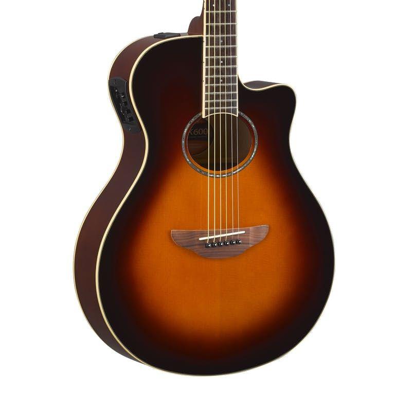 Yamaha APX600 Old Violin Sunburst Electro Acoustic Guitar