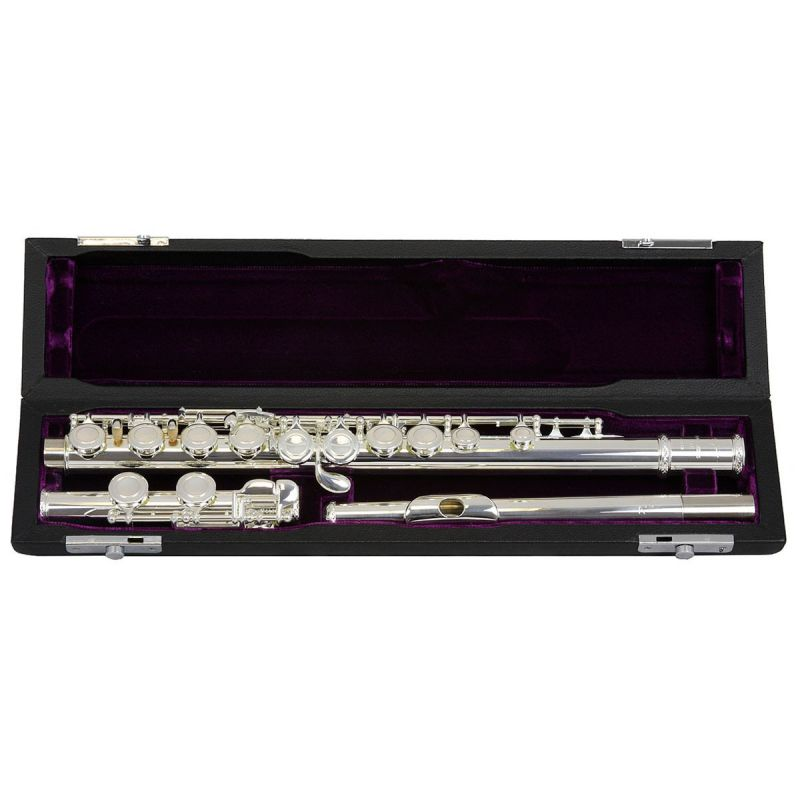 Trevor James 10X Flute Outfit, Silver Lip Plate and Riser