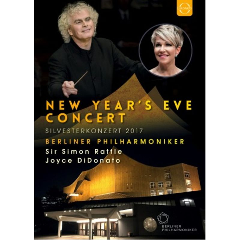 BERLIN PHILHARMONIC/RATTLE - NEW YEAR'S EVE CONCERT 2017 (DVD)
