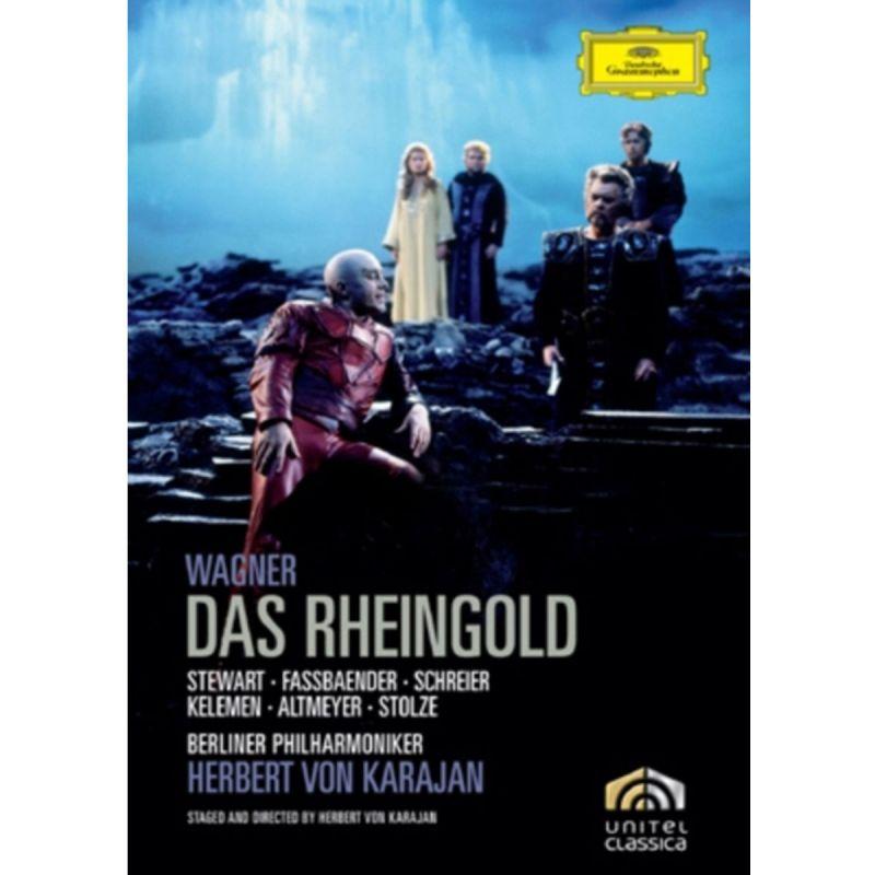 HERBERT VON KARAJAN - WAGNER DAS RHEINGOLD (DVD)