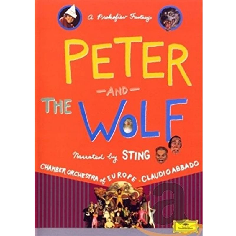 STING COE ABBADO - PETER AND THE WOLF (DVD)