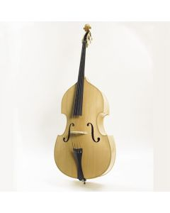 Stentor 1950LC Rockabilly Blond Flat Backed Double Bass, 3/4 Size