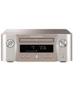 Marantz MCR612 Melody X Series, Network Mini System with Bluetooth, Silver-Gold Black
