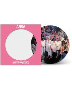 ABBA - SUPER TROUPER - 7' PICTURE DISC VINYL