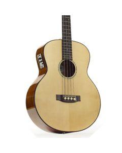 Ozark Electro Acoustic Bass, Solid Mahogany/Spruce